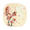 3715 Тарелка квадратная 8-20см (Цветущая Вишня)