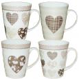 040-01-13 Чашка 350мл Черно-белая любовь