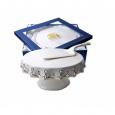 3086 Снежная королева Набор для торта 2пр. элит (белый с золотом)
