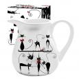 2234-12 Кувшин 'Черная кошка' (об-м 1л, h-14см)