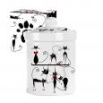 6922-12 Емкость для сыпучих продуктов 700мл 'Черная кошка' (24)