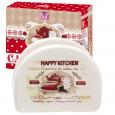 3662-11 Салфетница 'Happy Kitchen' (длина-10см, h-8 см)