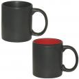 3574-03 Чашка 240мл черная, черно-красная