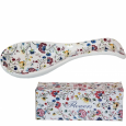 3653-10 Подставка для ложек 'Цветочный шелк' (Длина-23 см, h-2,5 см) (60)