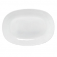 30111-02 Тарелка 9 'Белая квадрат