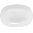 30112-02 Тарелка 11 'Белая квадрат