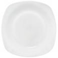 30125-02 Тарелка 9,5 'Белая квадрат