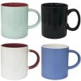 040-01-49-1 Чашка микс 420 мл от 1 до 6 цв. - цветная снаружи