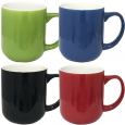 3579-4-1 Чашка 500мл микс от 1 до 4 цв. цветная снаружи