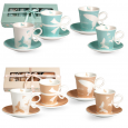 1533-10 Кофейный набор Бантик 100мл