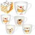 4160-27 Чашка Happy Cat в подар.упаковке 450мл