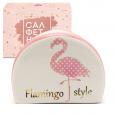 700-05-13 Салфетница 'Фламинго' (длина-10см, h-7см)