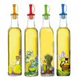701-5 Бутылка для растительного масла / уксуса 0,5л  Микс