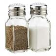 7001-02 Емкость для соли и перца (прозрачная без деколи) 80мл