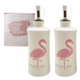 700-07-13 Набор 2пр бутылки для масла/уксуса 'Фламинго' 320мл