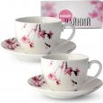 1753-10 Сервиз чайный 12пр. (чашка-280мл, блюдце-15см) Идиллия