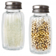 7001-01 Емкость для соли и перца  50мл (прозрачная без деколи)