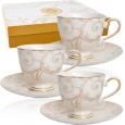 1757 Набор чайный 12пр (чашка-200мл, блюдце-15см) Этуаль