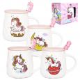 20623 Чашка с крышкой и ложкой Baby Unicorn 400мл