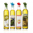 701-6 Бутылка для масла и уксуса микс 500мл Французские истории