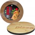8843 Доска разделочная бамбуковая Пицца 30*30*1,5см