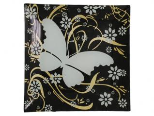 307 Фруктовница 25 см (бабочка)