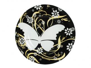 337 Тарелка десертная 20 см (бабочка)