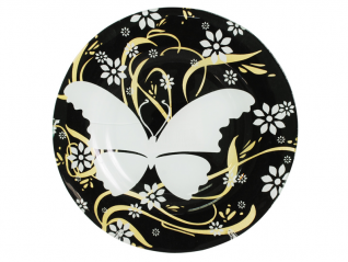 309 Блюдо 25 см (бабочка)