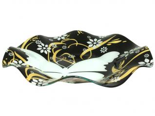 3101 Салатник большой 35см волна (бабочка)