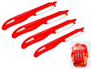 8584 Набор ножей для чистки овощей Маруся 4пр.
