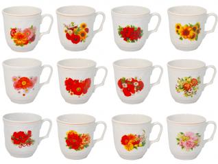 2131 Чашка 350мл цветы