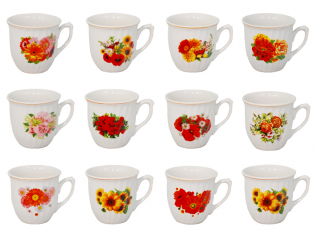 212 Чашка 220 мл цветы (2) (72)
