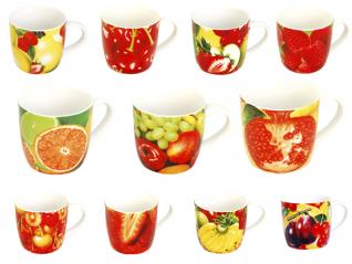 218 Чашка фрукты МИКС 340мл