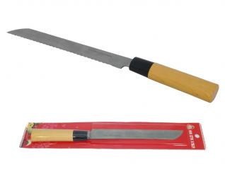 870 Нож с деревянной ручкой для хлеба Маруся 32см