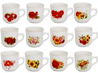 2134 Чашка 300мл цветы