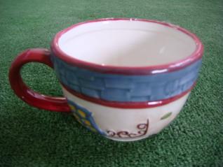 Чашка Голландский домик 150мм C1078-A