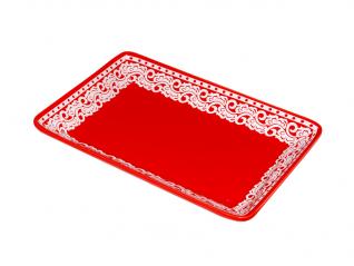 60945 Тарелка для запекания прямоугольная 24 * 15,5 * 3,5 см