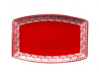 60948 Тарелка для запекания овальная 25,5 * 16,5 * 2,5 см