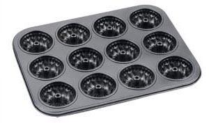 30212 Форма для выпечки кексов 34.5*26*3см ,ячейка 80мл