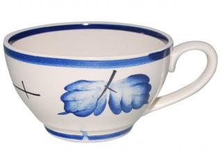 50191 Чашка Чайная рисунок <a href='http://snt.od.ua/ru/poisk.html?q=Осень' />Осень</a> кобальт (синяя) 380мл