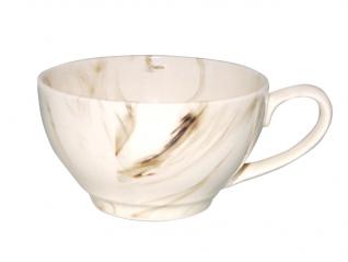 50195 Чашка чайная <a href='http://snt.od.ua/ru/poisk.html?q=радуга' />радуга</a> черно-белая 380мл