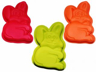 20043 Форма для выпечки 16,5*11,5*3 см Пасхальный кролик