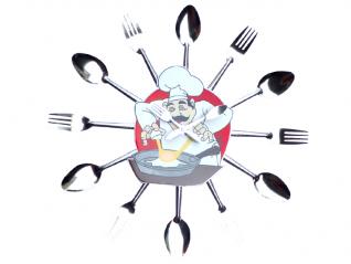01 057 Wall clock Cutlery 37*37*4.5 cm