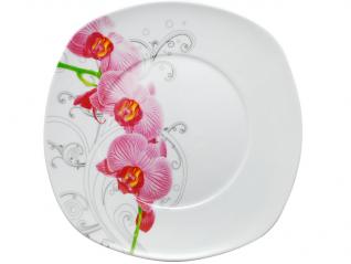 30813-10 Тарелка 9 'квадрат Орхидея