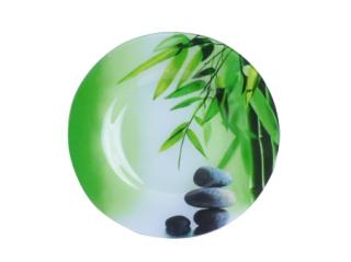 337 Тарелка десертная 20см (Зеленый бамбук)
