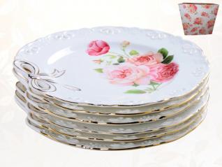 30876 Набор 6 дес. тарелок Бант  (d19 см)