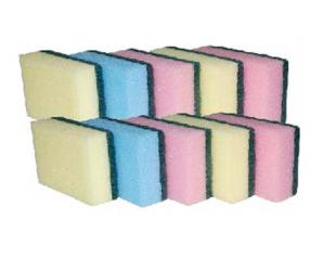 92101 Set of sponges for washing dishes 10 pcs 9*6cm