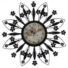 02-210 Часы мет. Деко интерьерный (43*3,5*43 см)