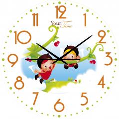 05-402/01 Часы настенные Друзья Детские мультфильмы кругл 25 см