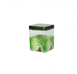 612 Емкость для сыпучих продуктов,квадр. 0,65л <a href='http://snt.od.ua/ru/poisk.html?q=Зеленый бамбук' />Зеленый бамбук</a>